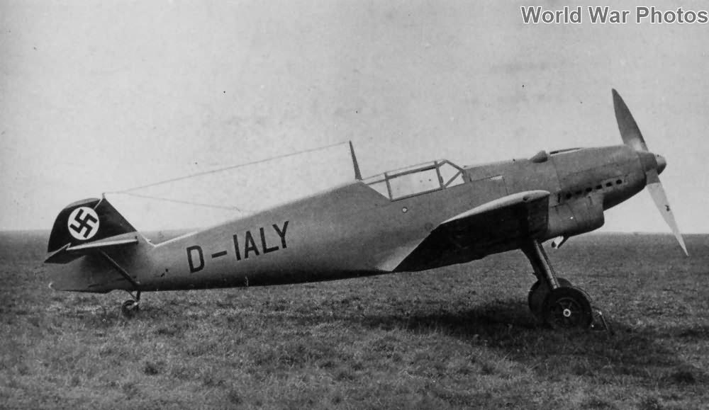 Bf 109V-7 D-IALY