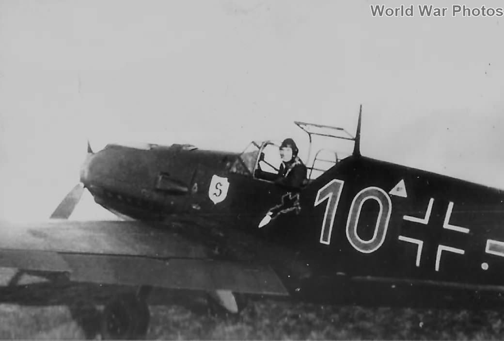 Bf 109E 10 of the JG 26