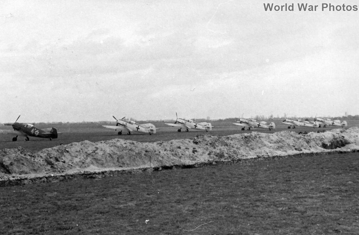 Bf 109s on the ground 14