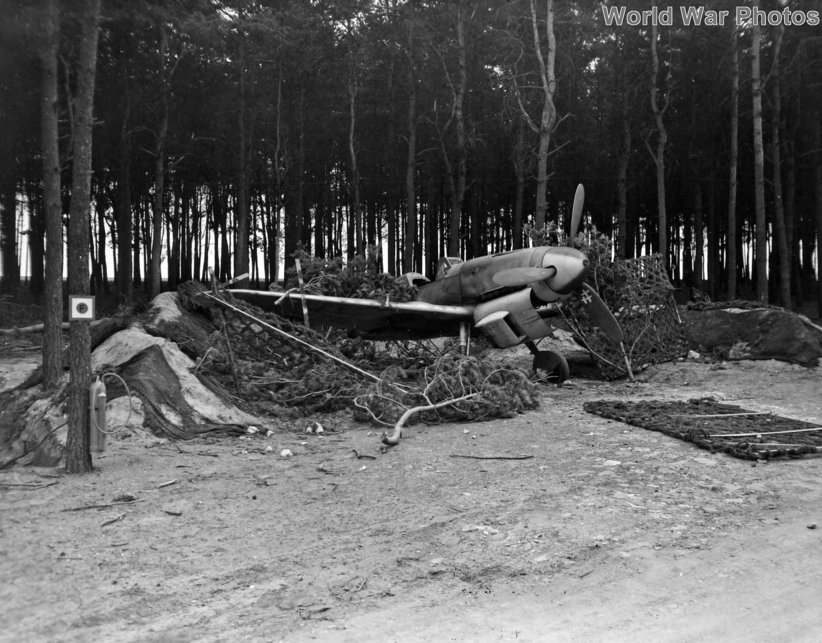 Bf 109 captured by US near Stendal