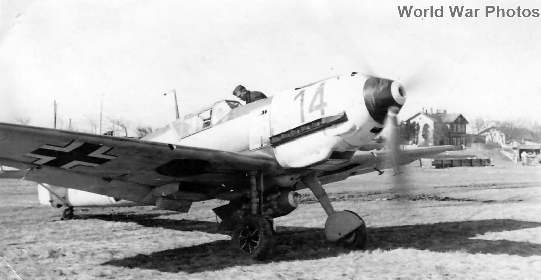 "Bf 109 E ""14"" of the 2/Sch.G. 1, Werl, Spring 1942"