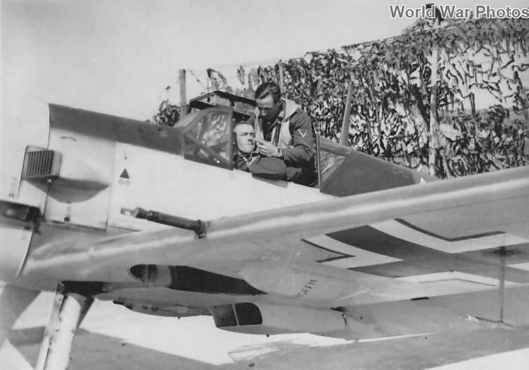 Bf 109 E of the 5/JG 51, 1940