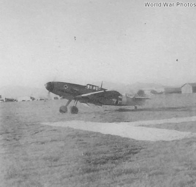 Bf 109 F from 3/JG 53 Sicily Spring 1942