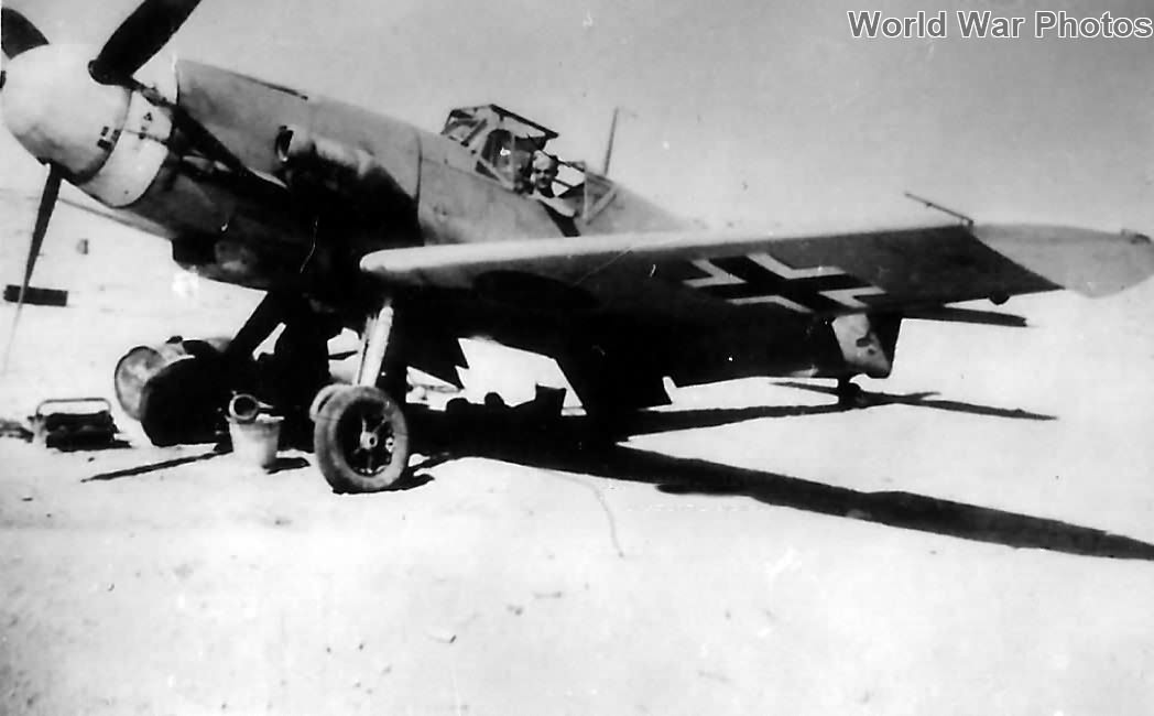 Bf 109 F-4/trop of the 3/JG 27 Quasaba 1942