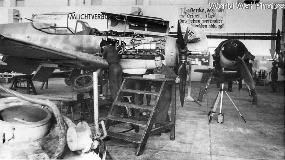Bf 109G assembly line 2