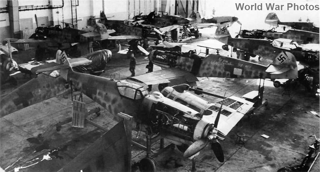 Bf 109G assembly line 3
