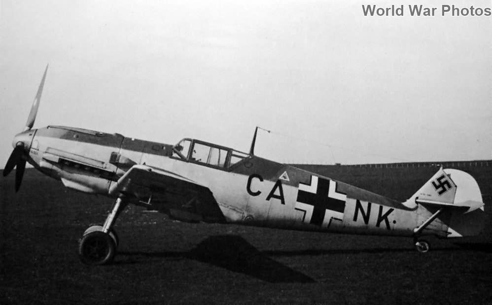 Messerschmitt Me 109 E-3 CA+NK