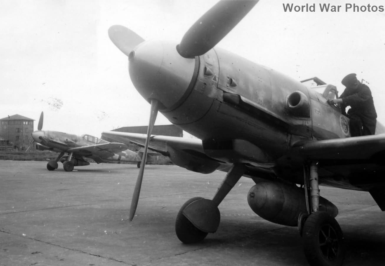 Me109 G of the JG 5