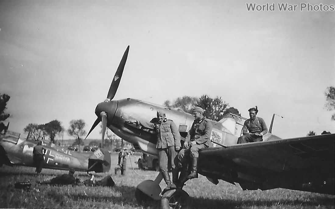 Me109s from II/JG 54
