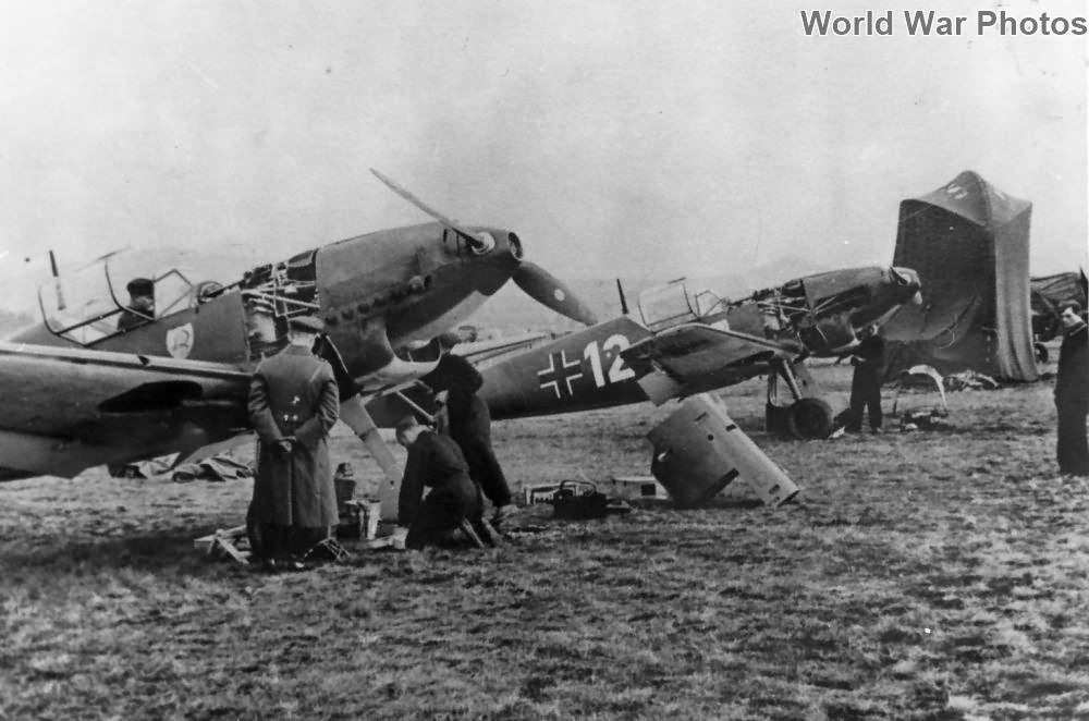 """Me 109C of the JG 2 """"Richthofen"""", Karlsbad 1938"""