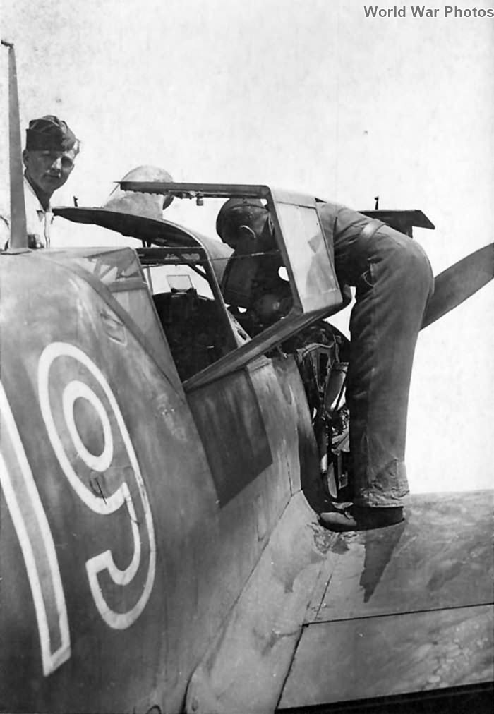 Me 109 F-4 from JGr Sud, Marseille Marignane 1943