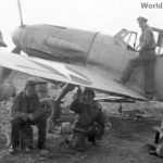 Captured Messerschmitt Bf109F