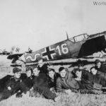 """Bf 109 """"16"""" of the III/JG 52"""