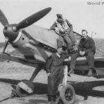 Me 109 E of the 5/JG 51, 1940