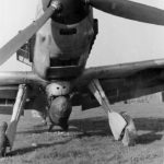 Me 109 E with SC 250 KG bomb, Pretsch April 1942