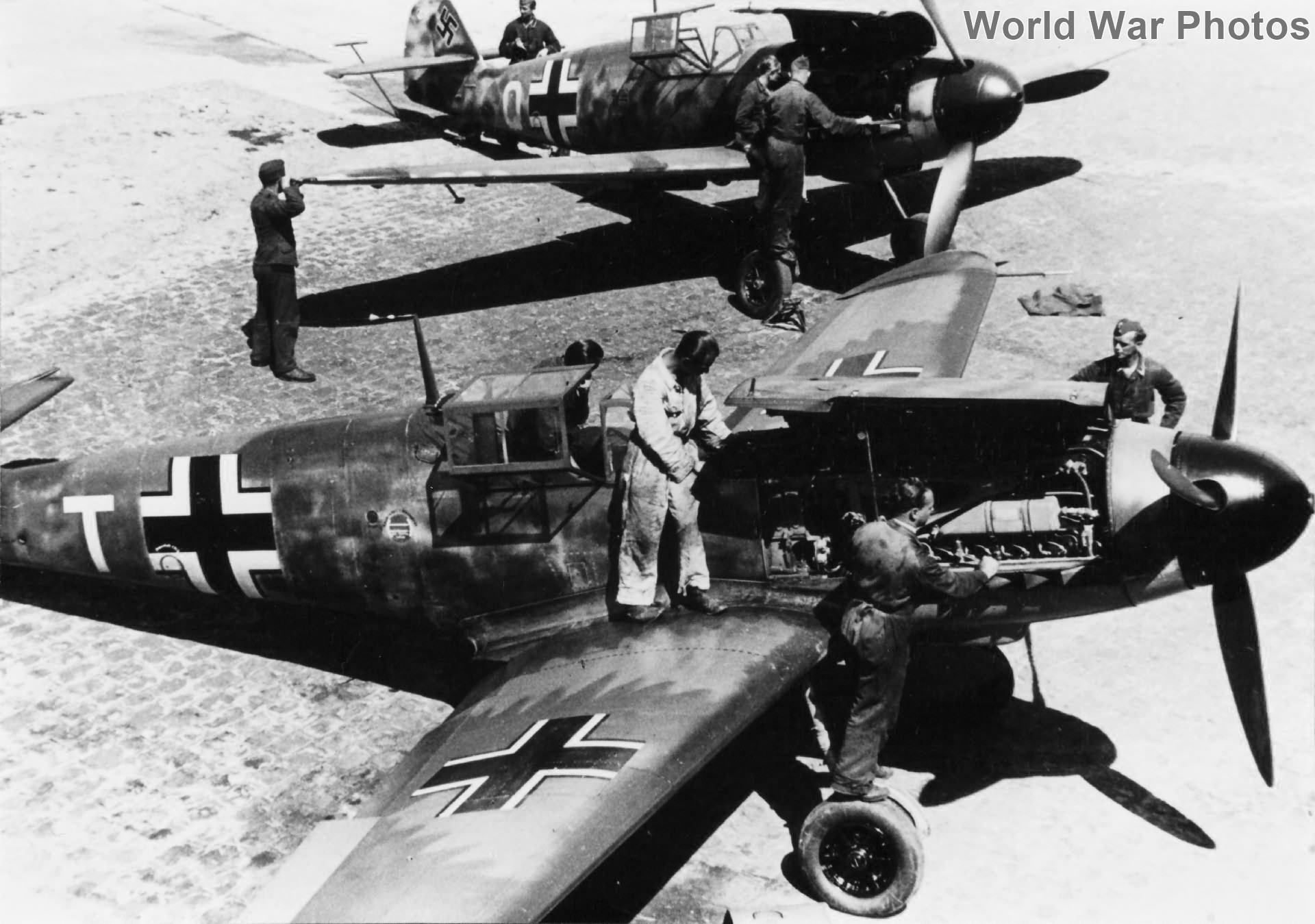 Recon Bf109Fs