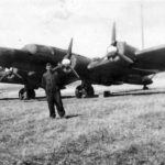 BV 142 on the ground