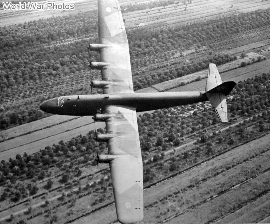 Prototype Blohm & Voss BV 222 V1 in flight