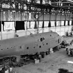 BV222 Flying Boat in Hamburg 1945