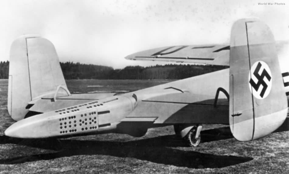Do 217V-1 with parachute brake