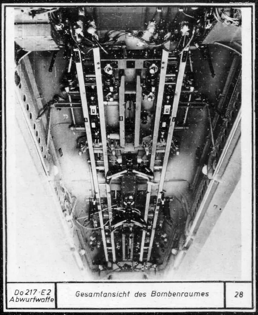 Do 217 E-2 bomb bay