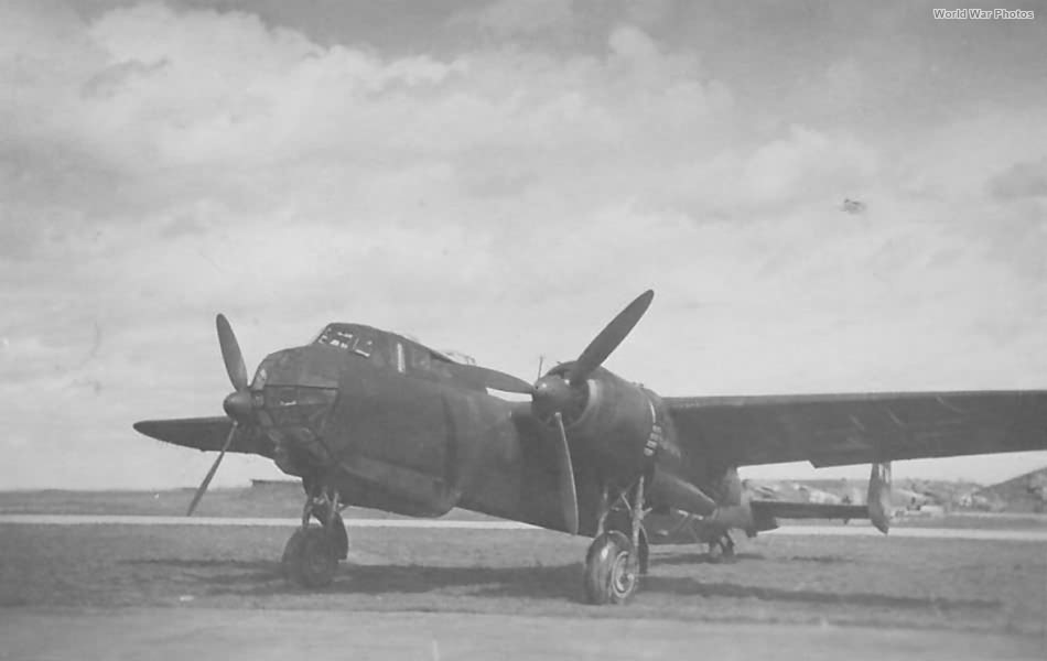 Do 217 E in Bourges 1944