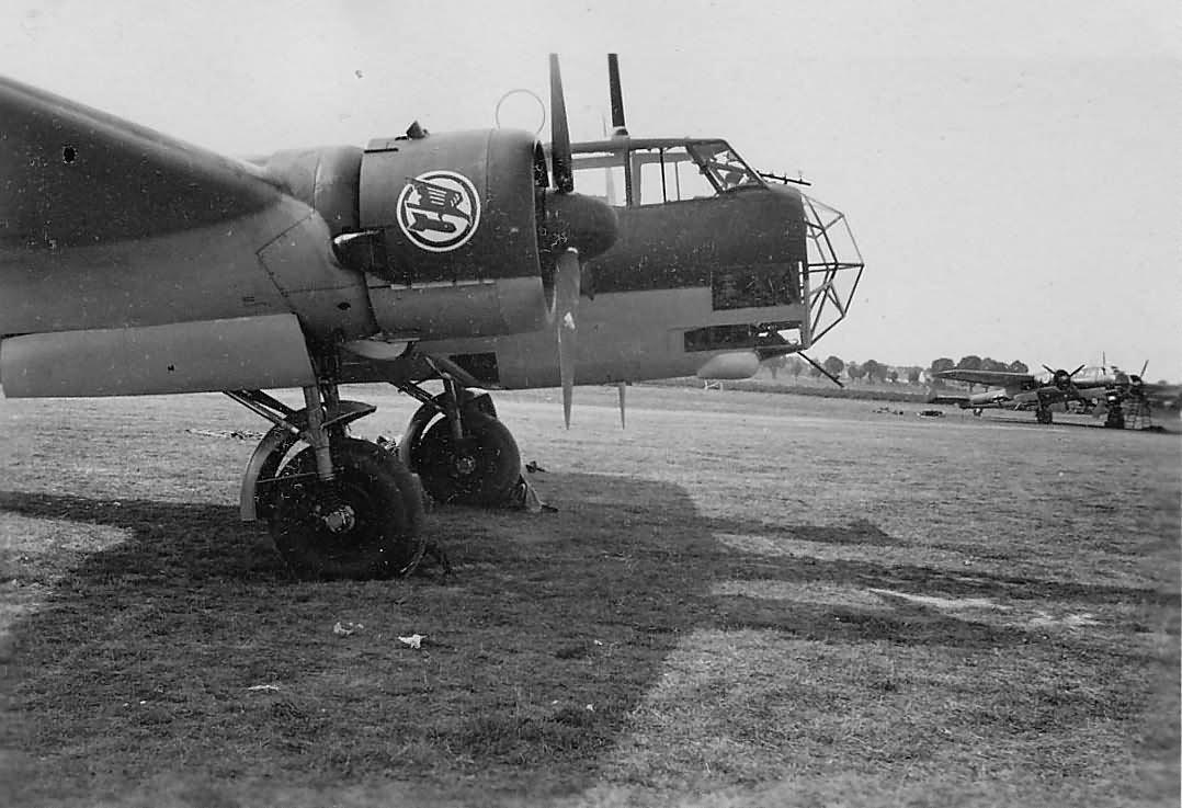 Bomber Dornier Do17Z of the 5/KG3