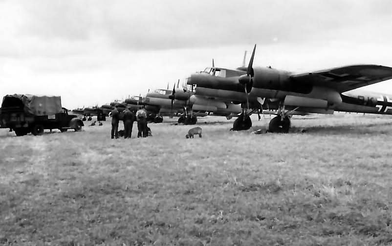 Bombers Do 17 P of the KG 51 France May 1940