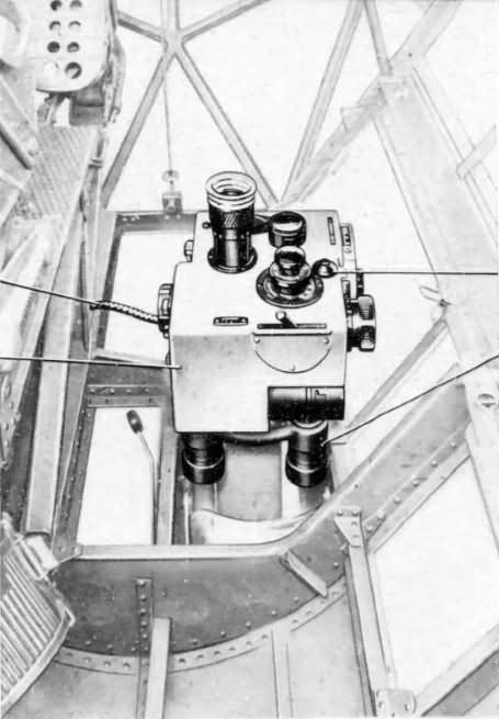 Do17Z bombsight cockpit