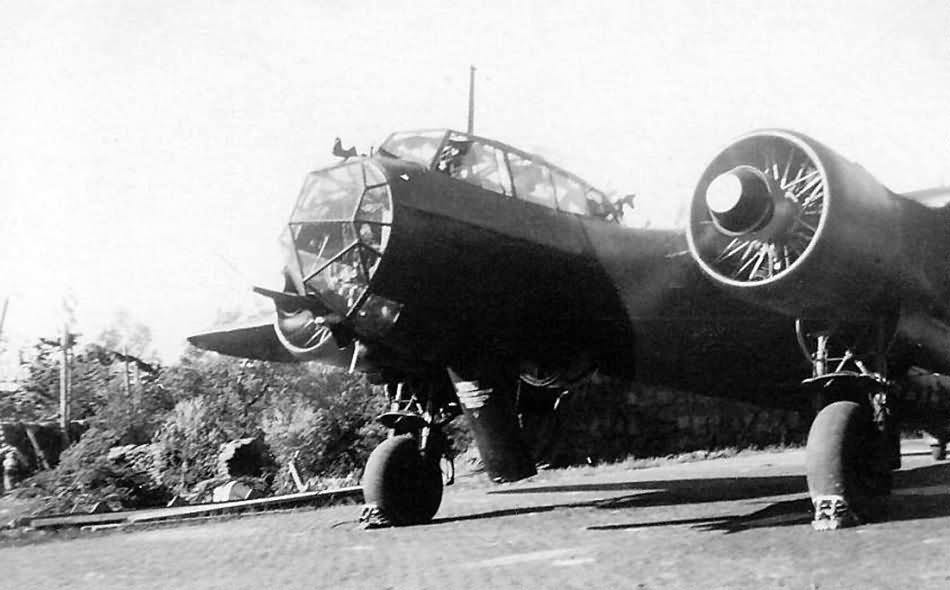 Do17 Z of 2/NJG 2 Gilze Rijen September 1940