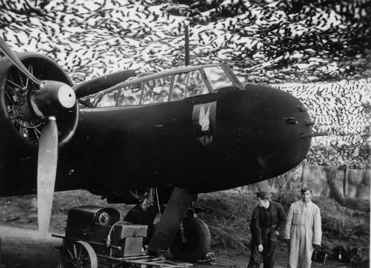 Do 17 Z-7 Kauz I of the NJG 2 Gilze Rijen Holland 1940