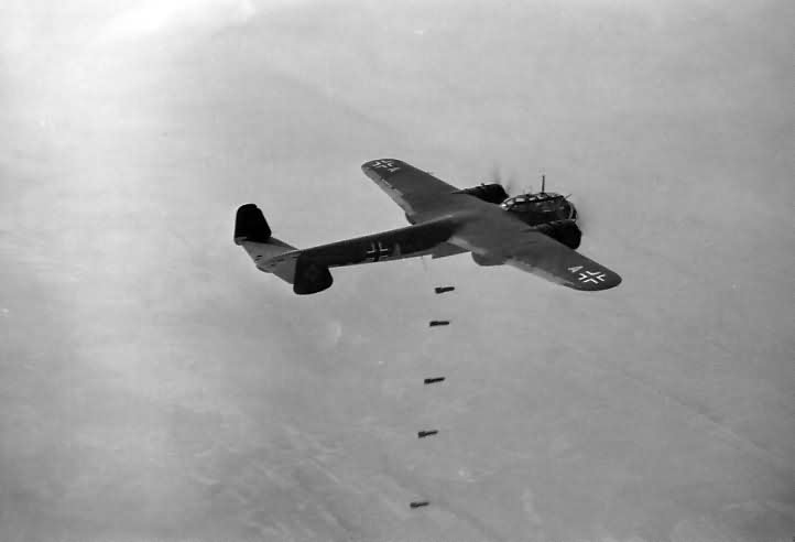 Do 17 Z U5+AL of the 3/KG 2 Bombing Poland September1939