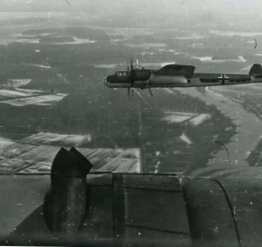 Dornier Do17Z in flight