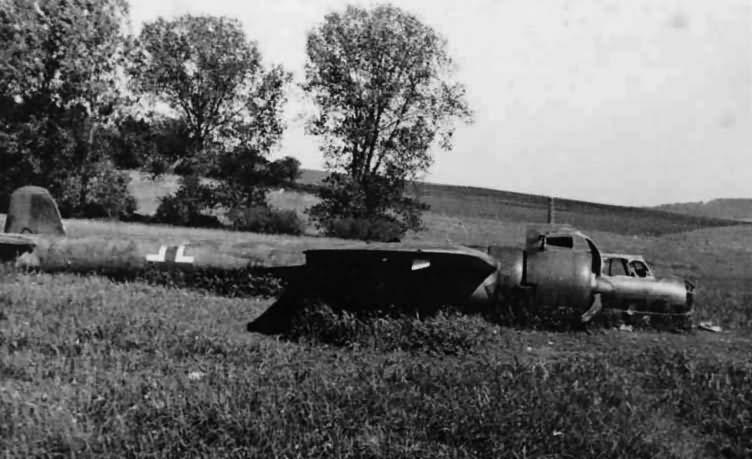 Crashed Dornier Do17 11