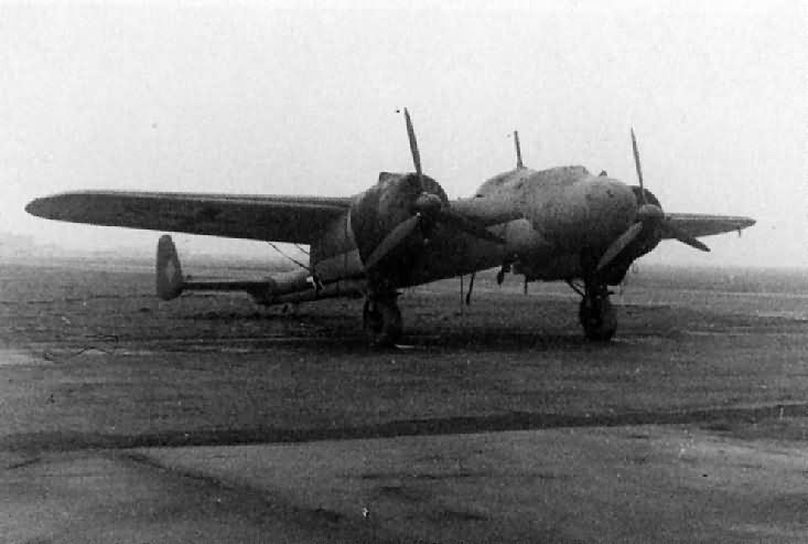 Dornier Do17 P on the ground