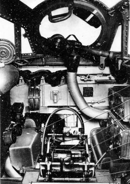 Dornier Do17 Z cockpit