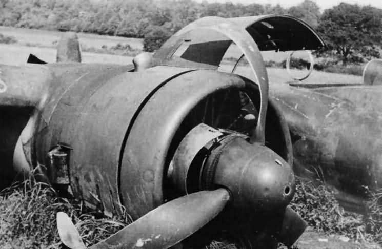 Crashed Dornier Do17 engine