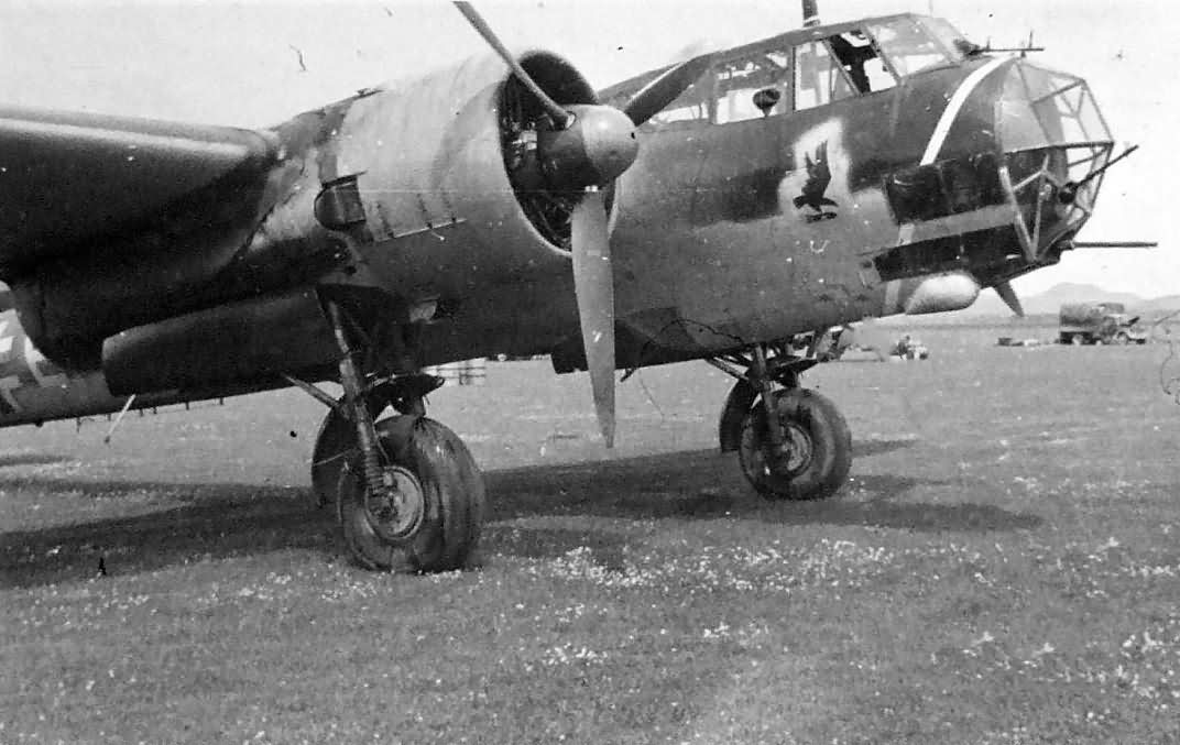 Dornier Do 17 Z of the I/KG 2 1941