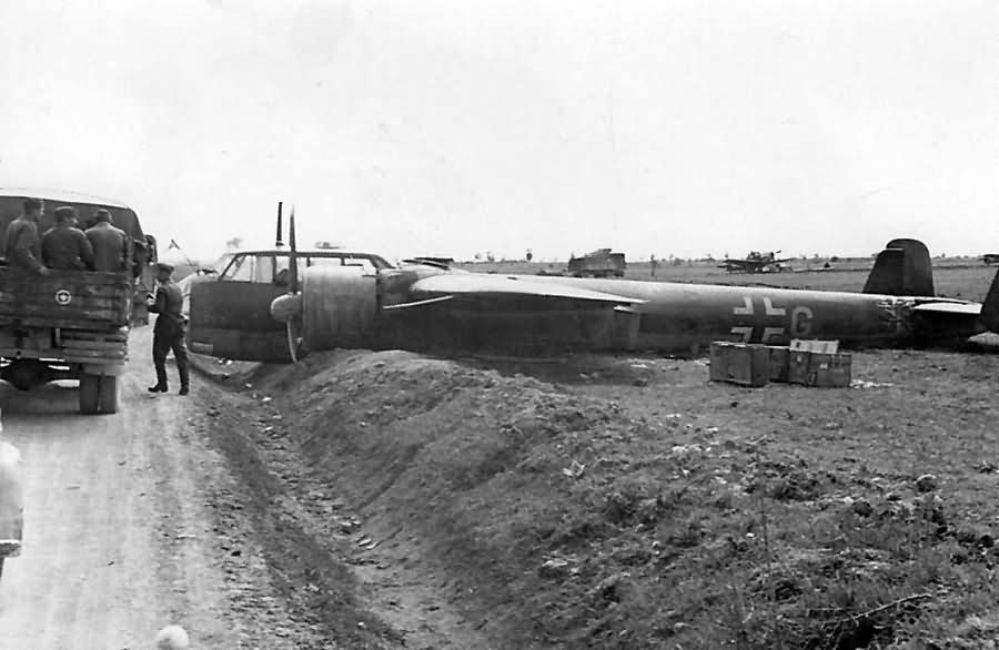 Dornier Do 17 Z crash France 1940