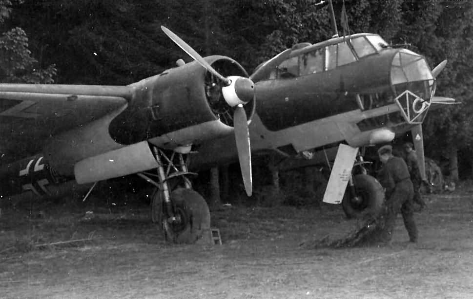German medium bomber Dornier Do17 Z