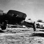 Do17 Z 3U+FU of ZG26 at Castel Benito Tripolitania Libya 1943