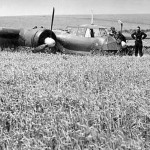 Do17 Z after crash landing