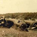 Crashed Dornier Do17 P