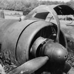Crashed Dornier Do17 engine