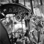 German medium bomber Do17 cockpit