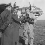 German bomber Do17 Z