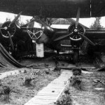 German bomber Do17 Z airfield