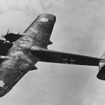 Dornier Do 215 in flight