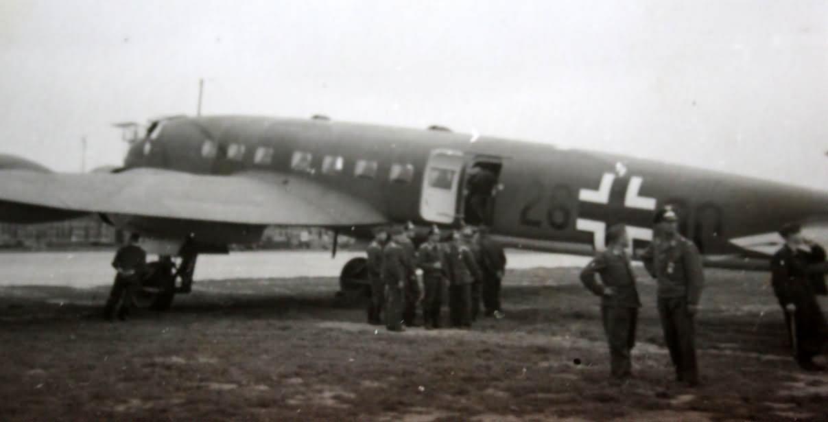 Focke Wulf Fw200 code 26+00 of the Fliegerstaffel des Führers (F.d.F.)