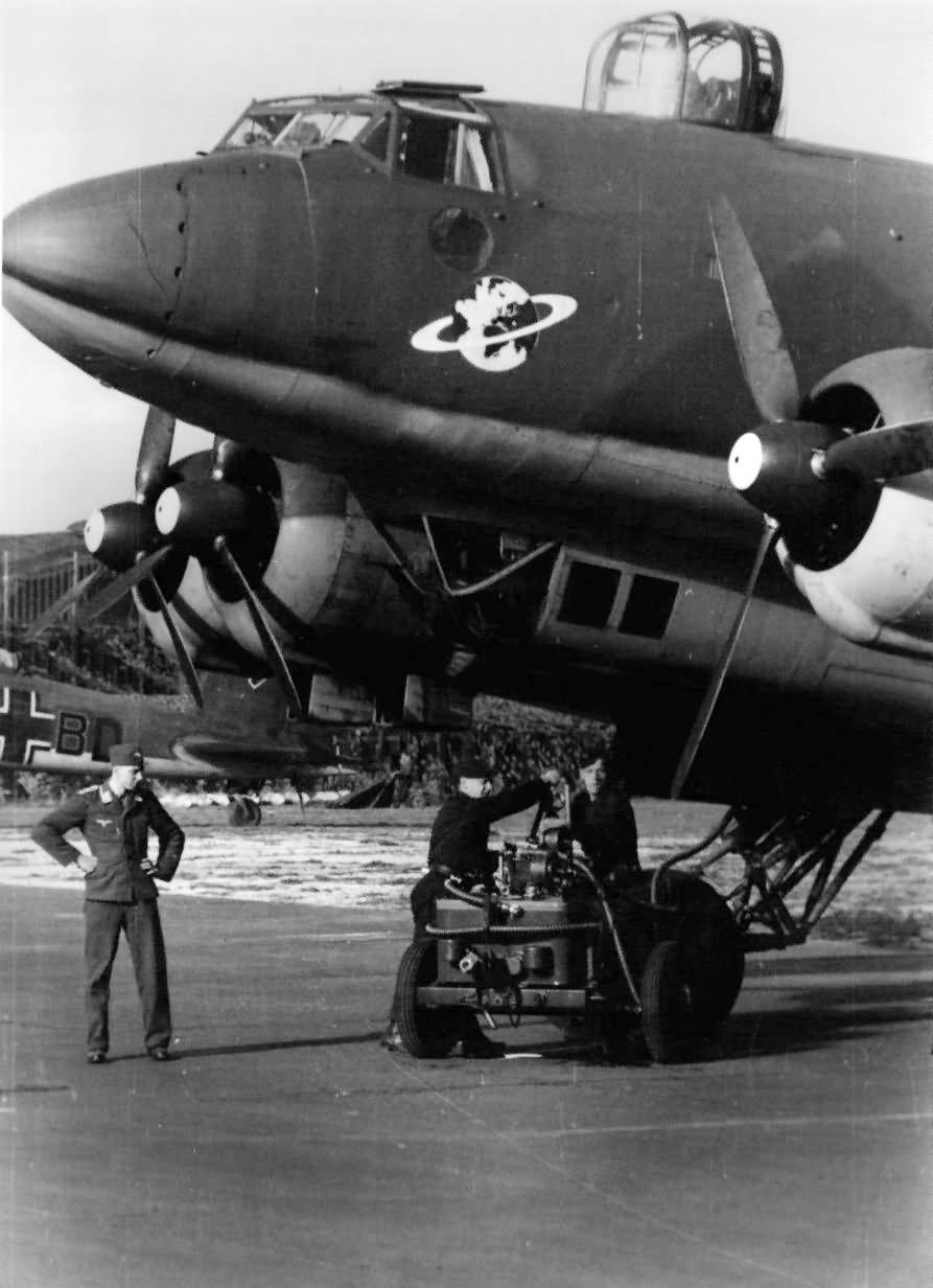 Fw200 C-4 of KG40 1942